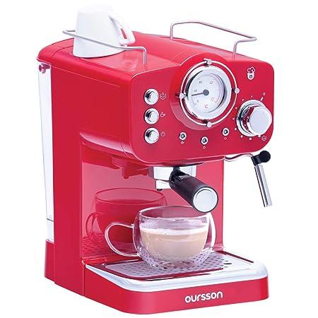 Oursson Cafetera Cappuccino y Café con 15 Bares de presión ...