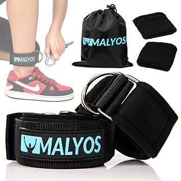 malyos Premium tobillo correas para Cable máquinas - Fitness y ...