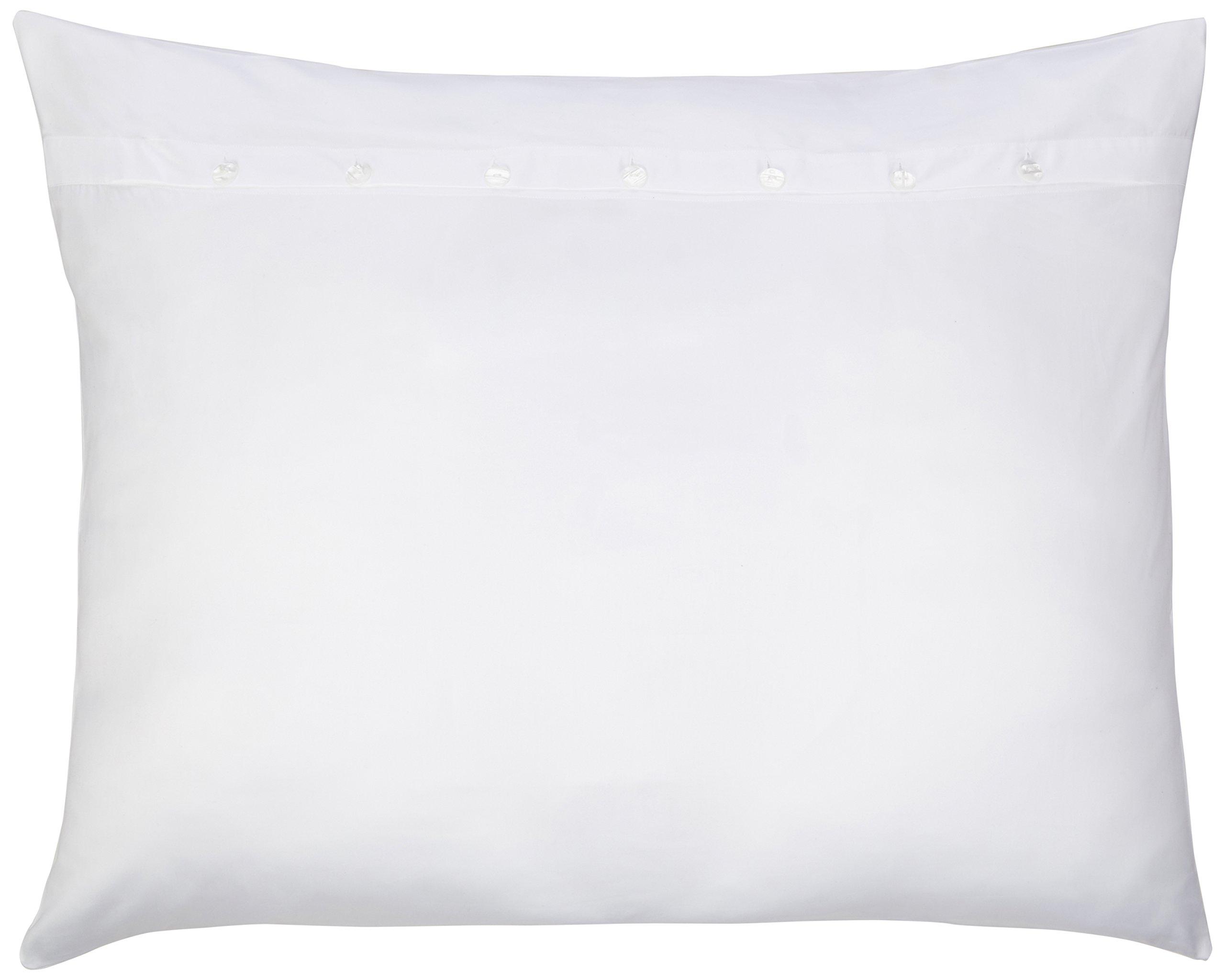 Pandora de Balthazar European Luxury Bedding 300 Thread Count Sleep System Sham, Euro King, White by Pandora de Balthazar
