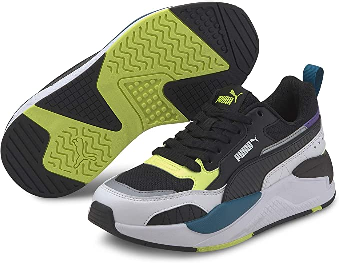 Puma X-Ray 2 Square - Zapatillas deportivas para niño, color negro, 374265-01: Amazon.es: Ropa y accesorios