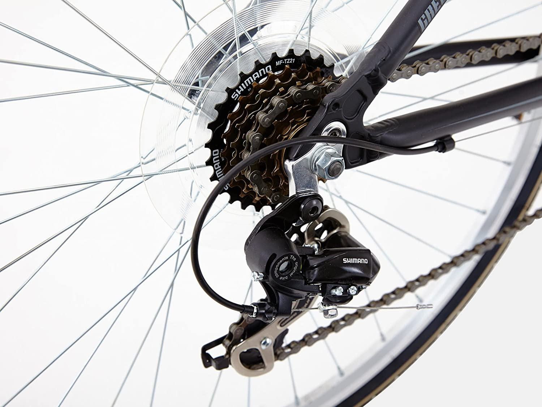 Greenway&Nbsp;-&Nbsp;Bicicleta con Marco de AleaciÓN Para Ciudad/Bicicleta HÍBrida, SuspensiÓN Delantera, Para Mujer: Amazon.es: Deportes y aire libre