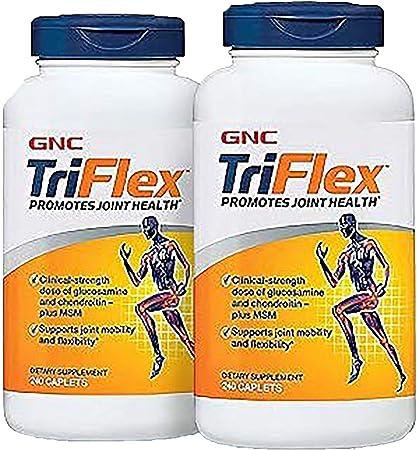GNC TriFlex, Twin Pack, 240 Caplets per Bottle, Promotes Joint Health