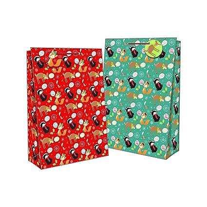 12 bolsas de regalo grandes, ideales para cualquier ocasión ...