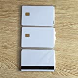 SLE4442 Contact smart card with 8mm Hico magnetic stripe -10pcs