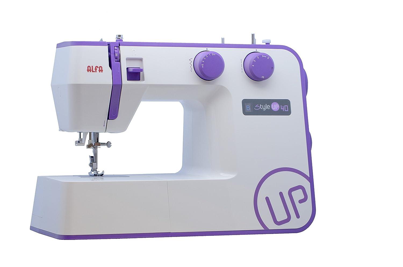 Alfa Style Up 40 Sewing Machine Purple Amazon Kitchen Home