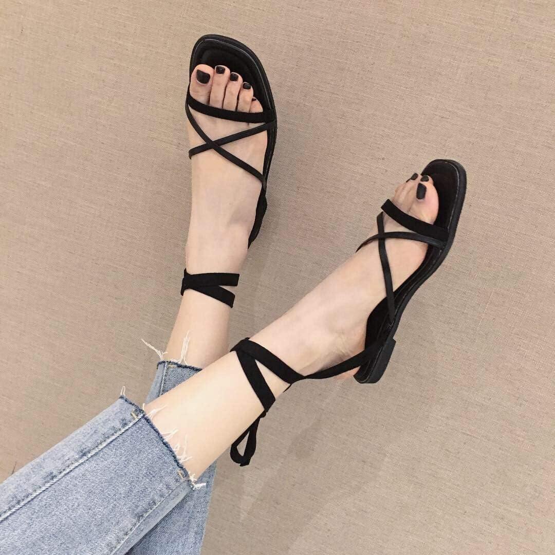 DNJKSA Fashion Sandals Korean Version