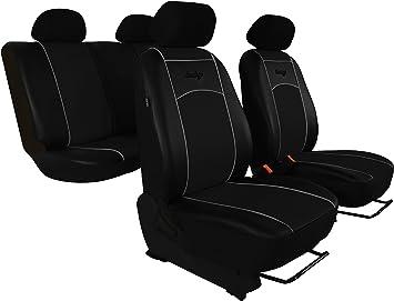 Schwarze Sitzbezüge für NISSAN PATHFINDER Autositzbezug VORNE NUR FAHRERSITZ
