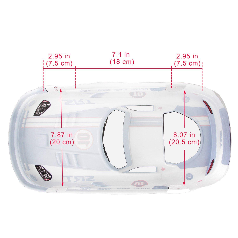 Coolplay 1/10 PVC On Road Drift Car Body Shell RC Racing