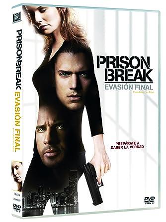 Prison Break: Evasion Final [DVD]: Amazon.es: Amaury Nolasco ...