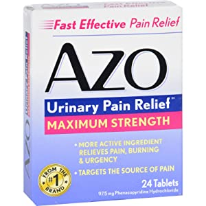 2Pack! Azo Urinary Pain Relief - 24 Tablets