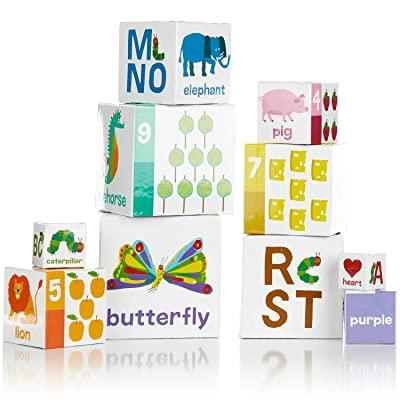 The World of Eric Carle, The Very Hungry Caterpillar Nesting and Stacking Blocks, Stacking Toys: Baby