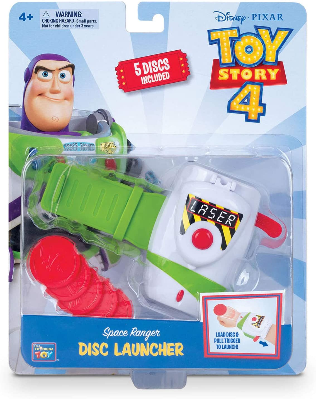 Toy Story Lanzador Discos Buzz Lightyear (BIZAK 61234496)