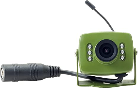 Green Feathers HD 1080p IP PoE Hedgehog House Camera Kit Includes Eco-Friendly Feeding Station Box and Power Extension Lead