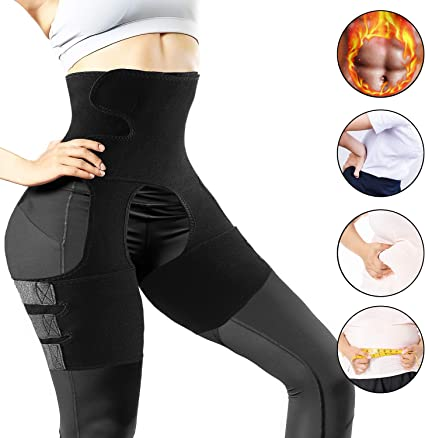 New 3-in-1 Adjustable Waist Trimmer for Women Body Shaper Belt for Workout Training Fitness Waist Trainer for Women Weight Loss Everyday Wear
