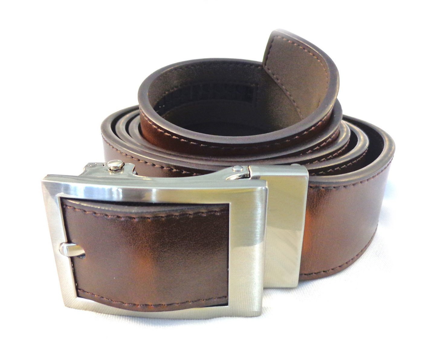 Nexbelt Mens Essential Classic Dress Belts Brown One Size Fits Most
