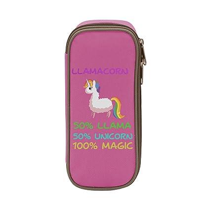 Amazon Com Mope Llamacorn Cute Llama Unicorn Pencil Case Double