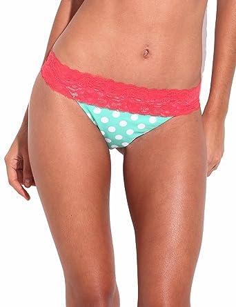 37938b415637b RELLECIGA Women s Lace Extra Cheeky Bikini Brazilian Bottom  Amazon ...