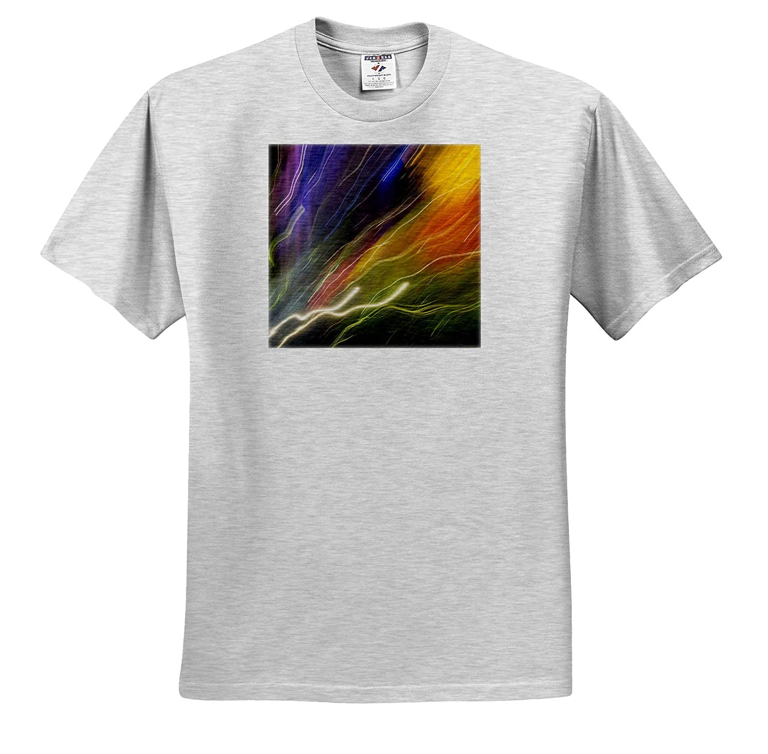 ts/_315184 Abstracts Colorful Glass with Motion Blur Effect 3dRose Danita Delimont - Adult T-Shirt XL