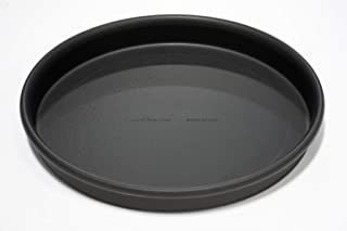 product image for LloydPans 10x1, Pre-Seasoned PSTK, Rolled Rim for Strength Straight Sided Pizza Pan, inches, Dark Gray