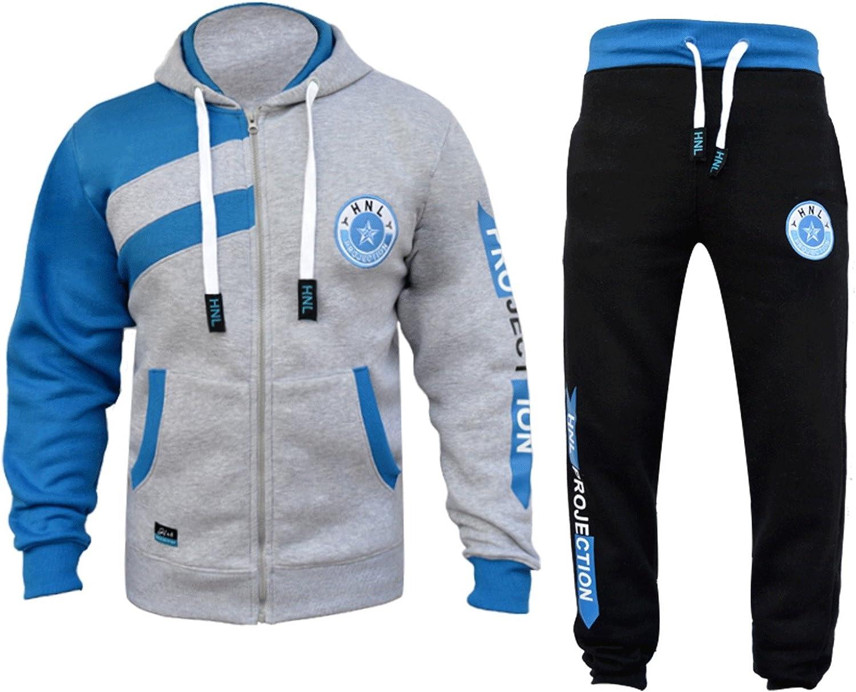 Elegant Vap - Chándal - universidad - para niño negro gris/azul 13 ...