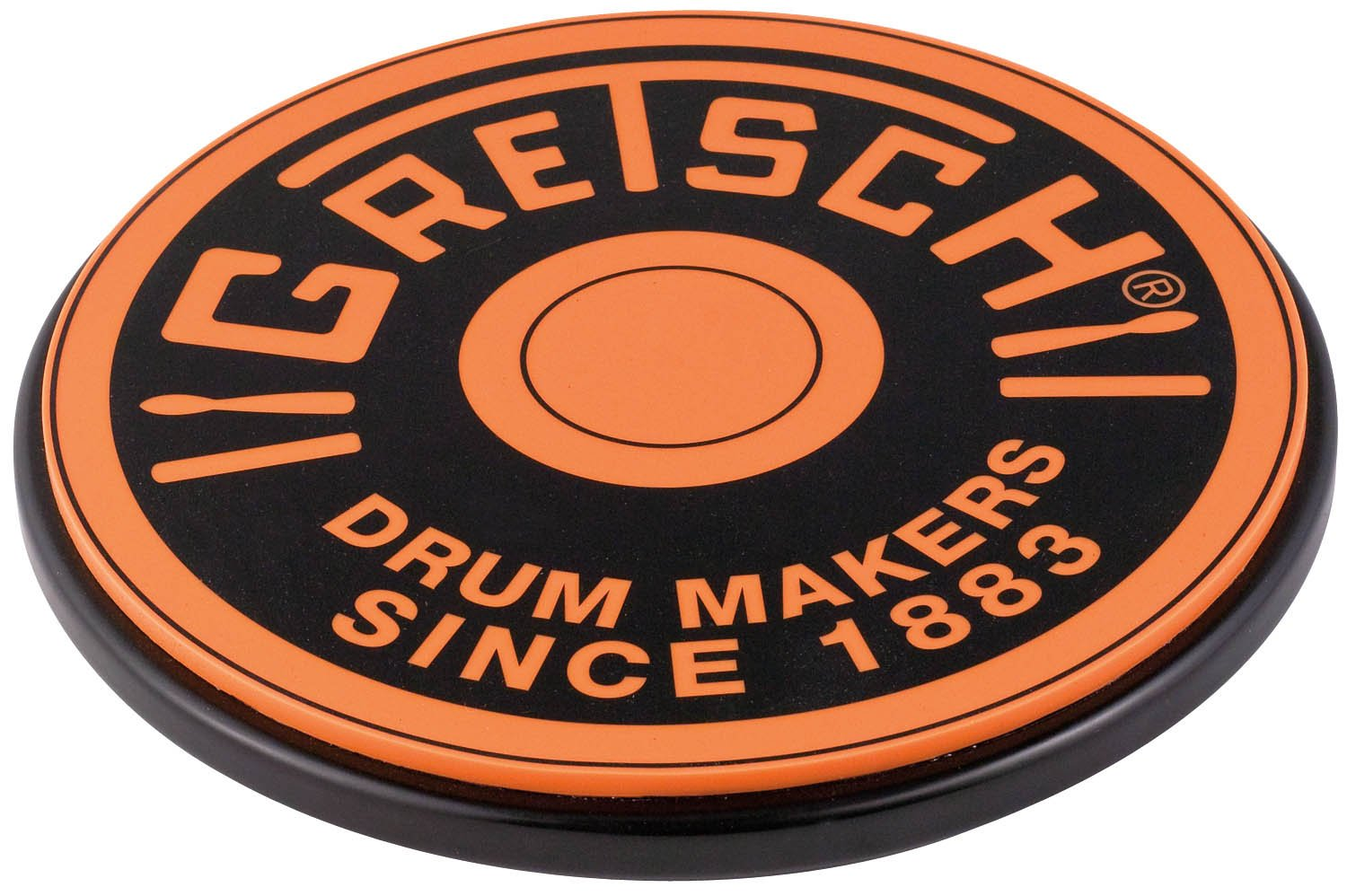 Gretsch Drums Practice Pad (GREPAD12O) Hal Leonard Music Accessories