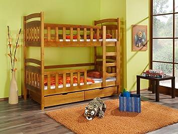 Etagenbett Doppelbett : Stockbett grau etagenbett kindermöbel schublade