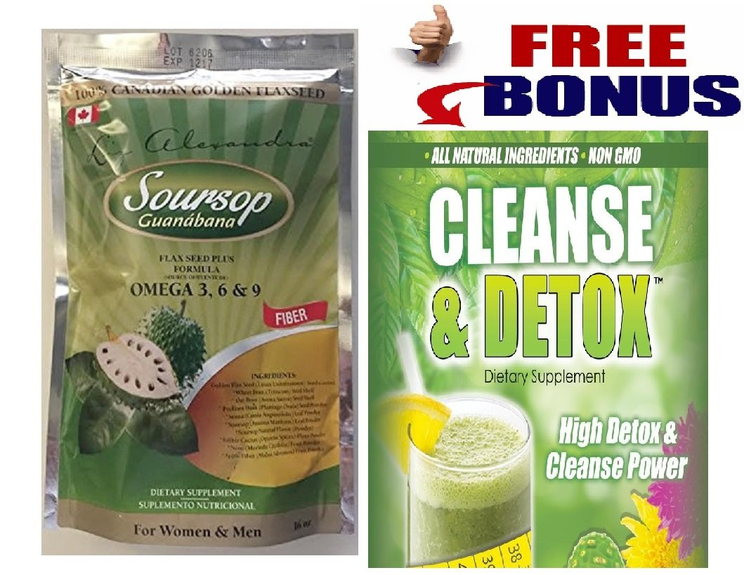Linaza Guanábana Soursop Flaxseed with Omega 3, 6 & 9, 16oz.