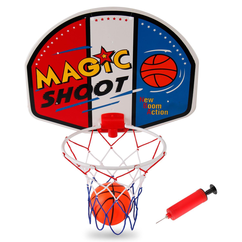 Liberty Imports Magic Shot Mini Basketball Hoop Set with Ball and Pump (Single) by Liberty Imports