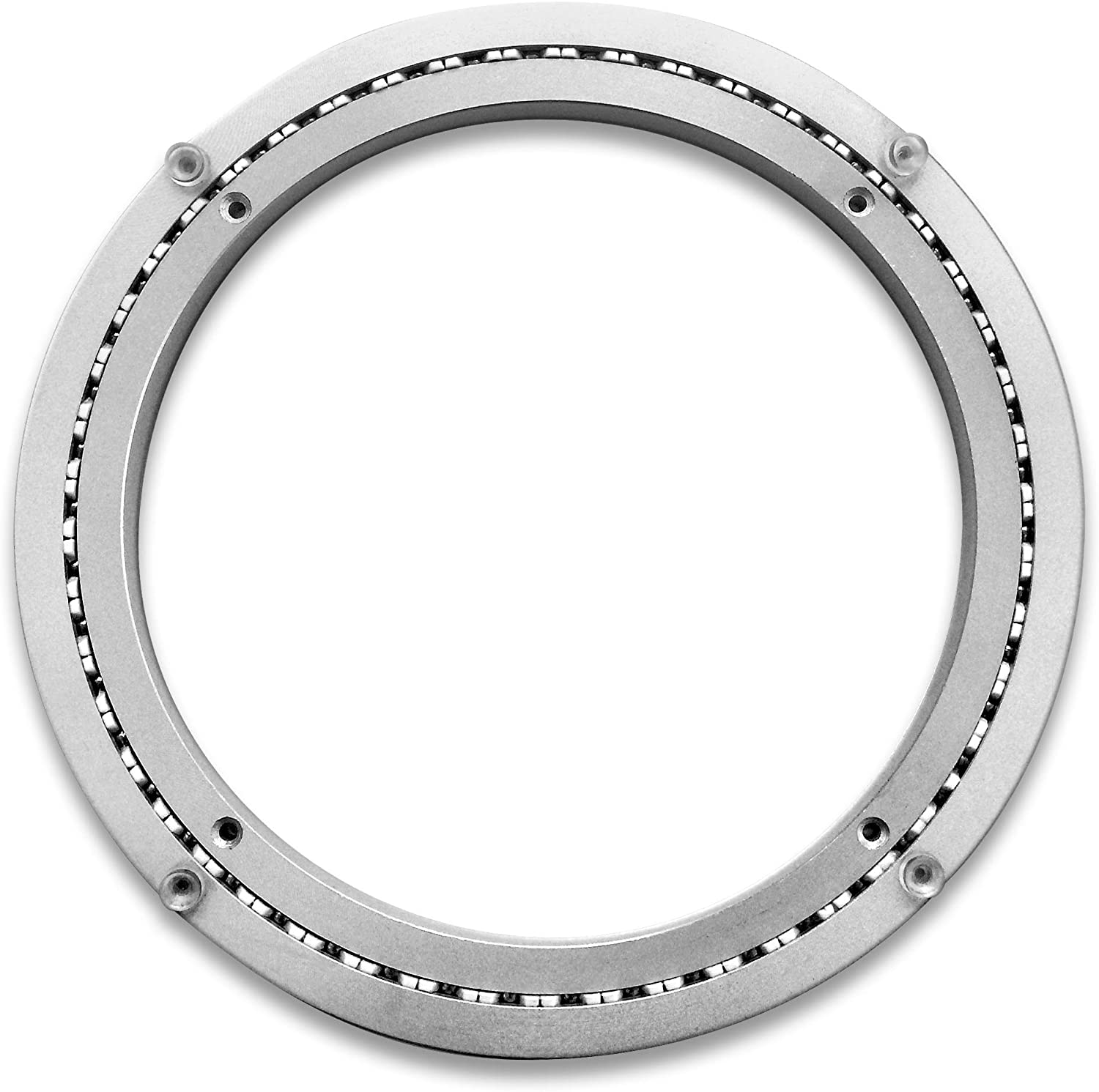 Medium-Duty Aluminum Lazy Susan Ring//Turntable with Single-Row Ball Bearings for Medium Loads MD 8-Inch