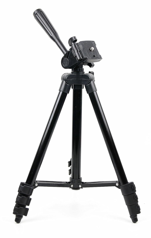 DURAGADGET 1 m伸縮式ポータブルアルミニウム三脚withスクリューマウントfor use with Samsung hmx-f80bp / hmx-h300 / hmx-f90 HDビデオカメラ   B075V8QMLP