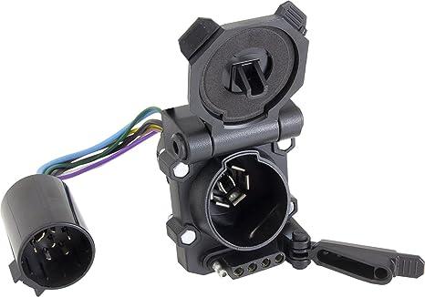amazon com hopkins towing solution 40999 plug in simple endurance rh amazon com tow ready t1 vehicle wiring harness jeep tow vehicle wiring harness