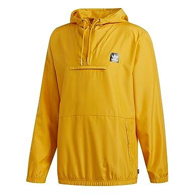adidas Veste Coupe Vent Hip Jacket Jaune  Amazon.fr  Vêtements et  accessoires e56a4c8f436