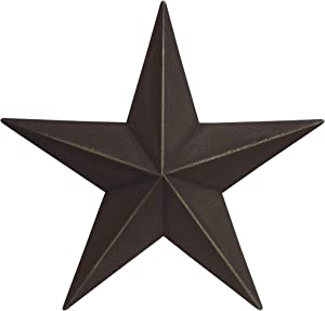 Hearthside Collection Black CWI Gifts Barn Star, 24""