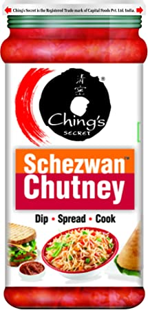 Chings - Schezwan Chutney, 250 g Bottle