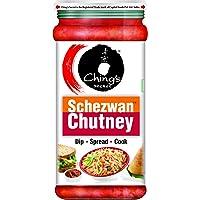 Ching's - Schezwan Chutney, 250 g Bottle