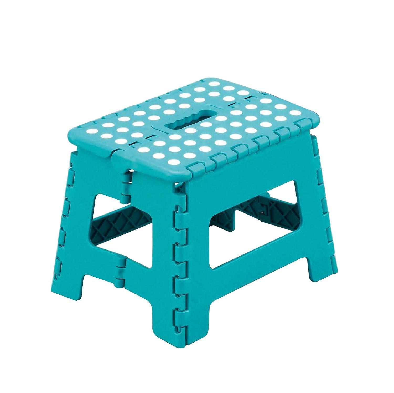 Zeller 99164 tabouret pliant en plastique turquoise 32 x 25 x 22 cm amazon fr cuisine maison