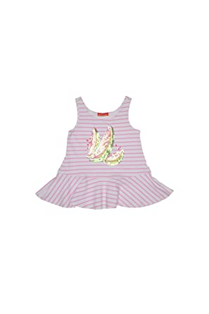 0cccc54b3 Amazon.com: Kate Mack Girl's 7-16 Wild Watermelon Top, Pink - 7 ...