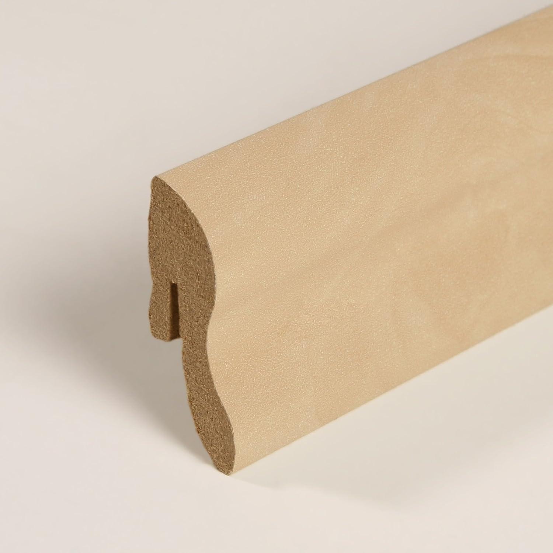 Sockelleiste Fu/ßleiste 40 x 22 x 2.600mm Dekor Kork