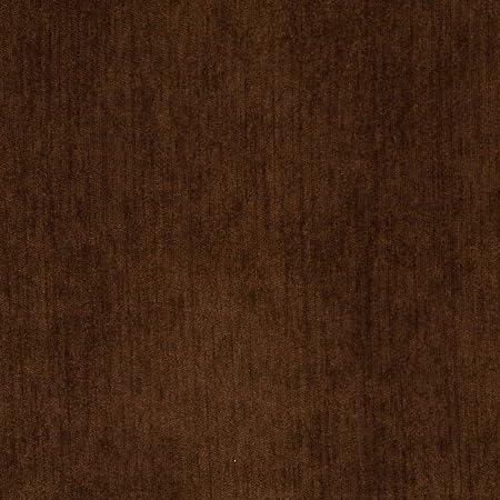 Heavy Chenille Fabric Dark Brown 137cm