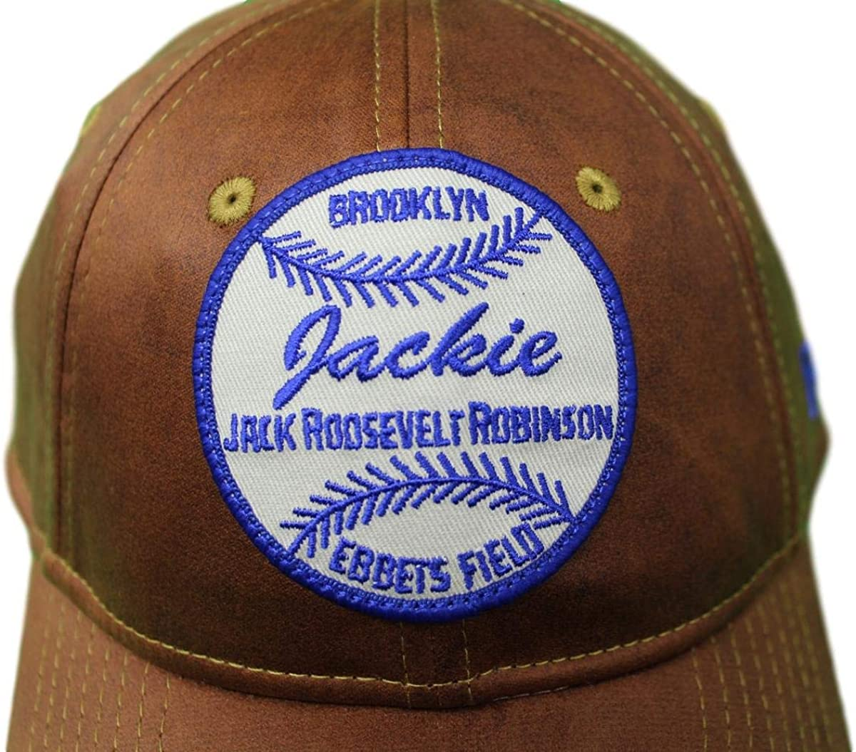 look out for multiple colors newest Amazon.com : New Era Brooklyn Dodgers 9Twenty Cooperstown Jackie ...