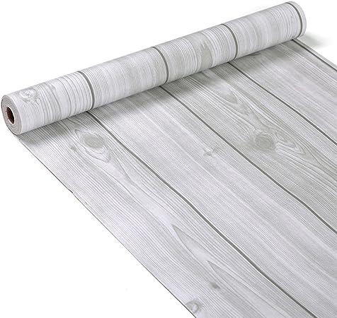 Glow4u Papier De Decoration Adhesif Avec Grain De Bois Pour Plan De Travail Etagere Ou Placard 45 X 200 Cm Amazon Fr Cuisine Maison
