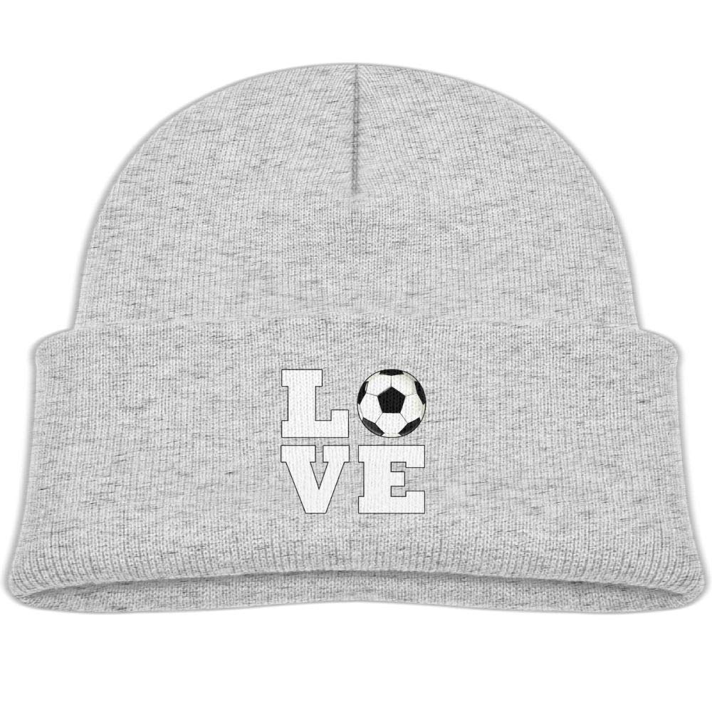 acfa267f6198b4 Amazon.com: Beanie Hats Skull Cap Wool Soccer Love Baby Soft Boy Girls:  Clothing