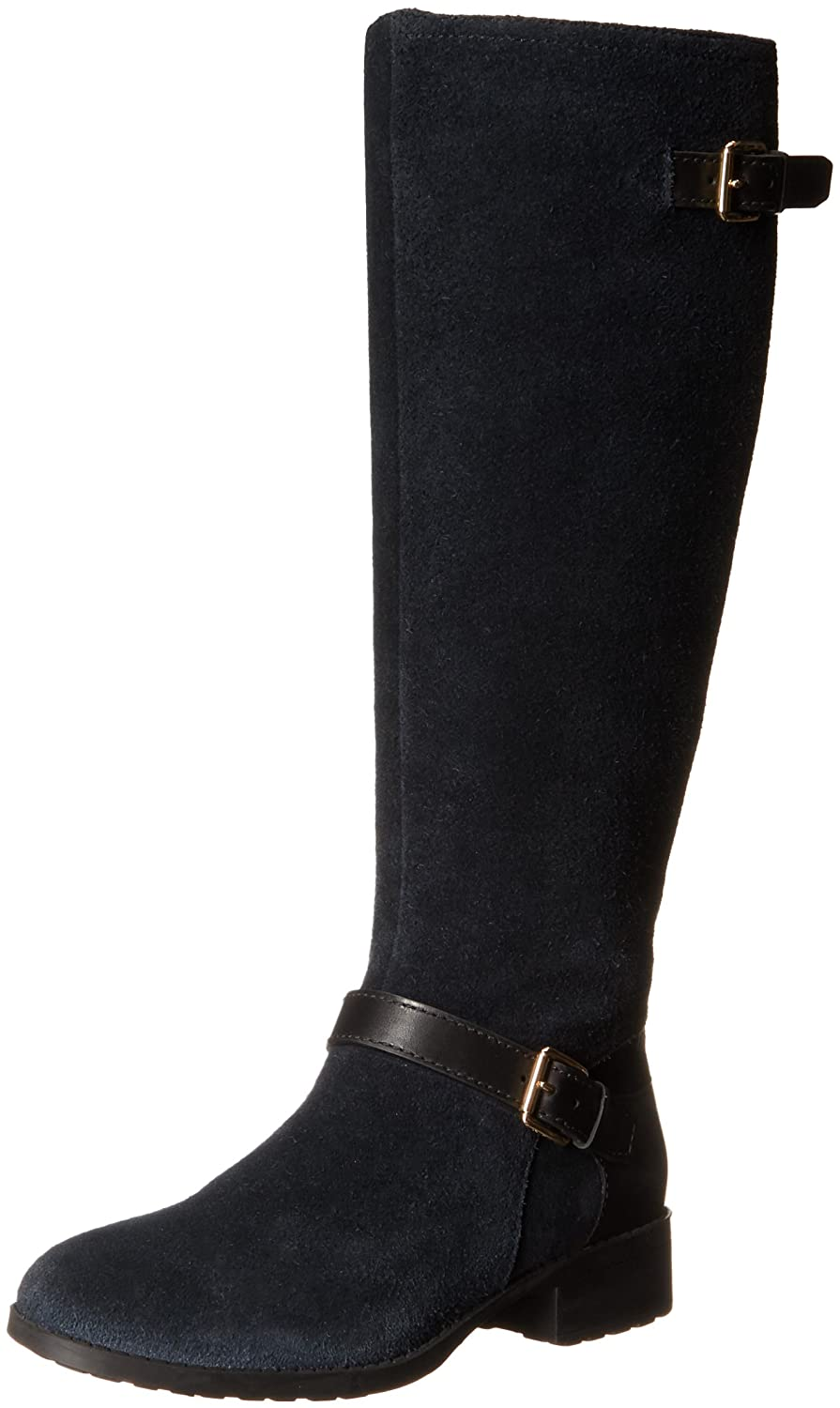 Cole Haan Women's Marla Wp Motorcycle Boot B00AJ9P2XW 7.5 B(M) US Black Wp Suede/Black Leather