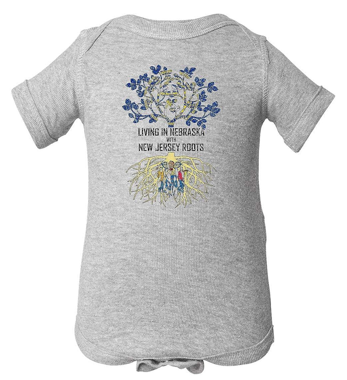 Tenacitee Babys Living in Nebraska Jersey Roots Shirt