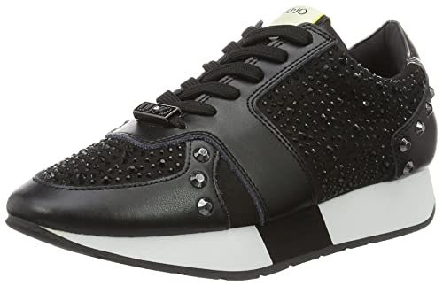 Sneaker donna Liu-Jo Aura S66011 nero  Amazon.it  Scarpe e borse 95cb9fbe7c9