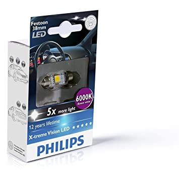 Philips 70338230 sv8 5 1 w led car light bulb car light bulbs 1