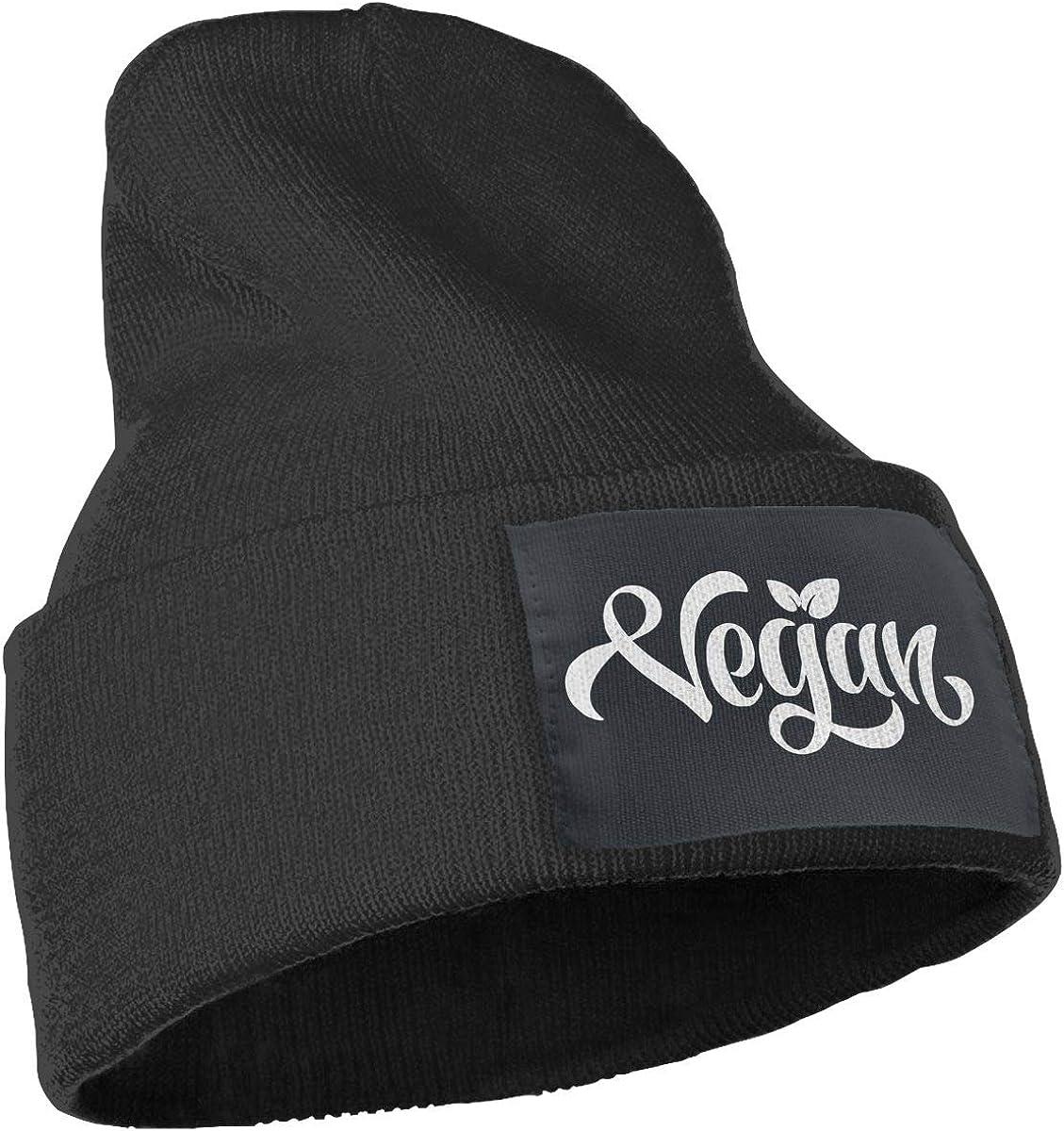 COLLJL-8 Unisex Vegan Outdoor Stretch Knit Beanies Hat Soft Winter Skull Caps