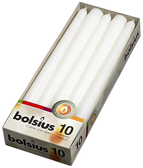 Taper Candles 10 in. (10 Count -White)
