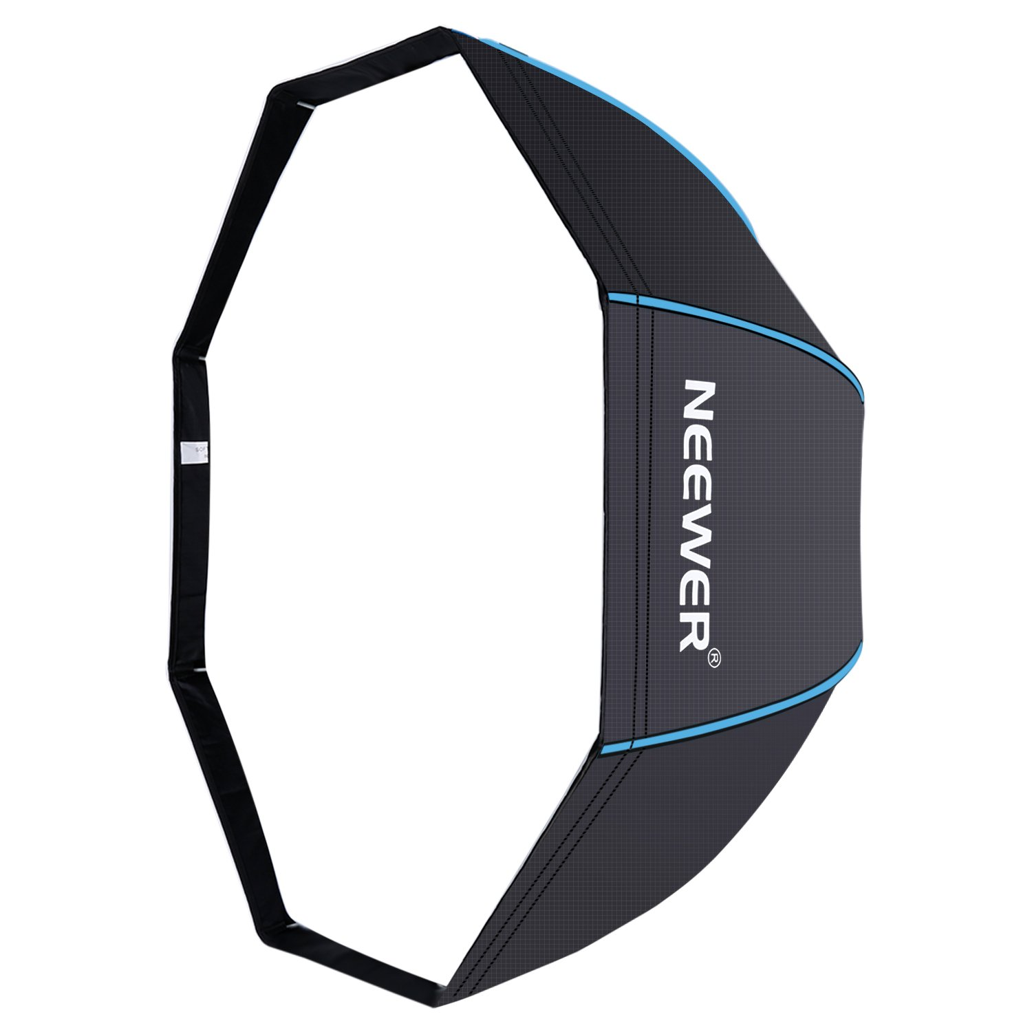 neewer 47 inches 120 centimeters octagonal softbox umbrella with blue edges and 191073025103 ebay. Black Bedroom Furniture Sets. Home Design Ideas