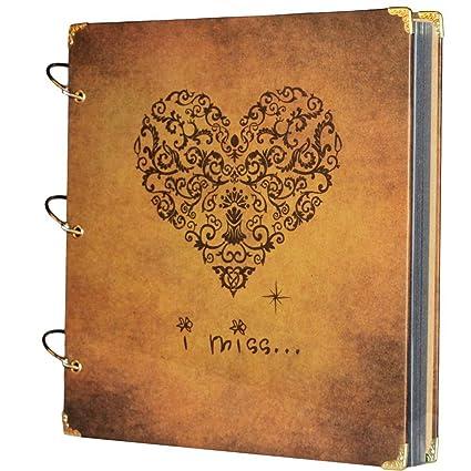 Xiduobao Album Photo Scrapbooking Mariage Livre D Or Livre De Voyage Diy Album Photo Story Album D Enregistrement